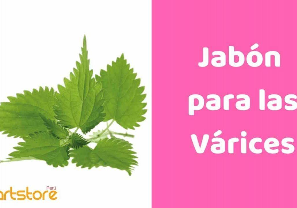 Jabon para Varices